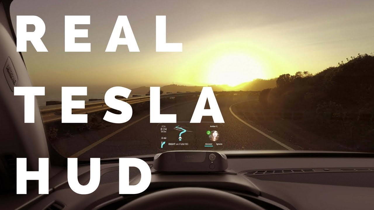 Tesla Model 3 S Gest Flaw Solved By Navdy My Review Of Heads Up Display