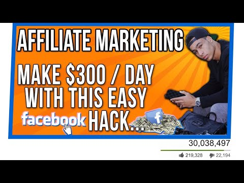 AFFILIATE MARKETING: How I Made $1 Million at 19 Years Old -