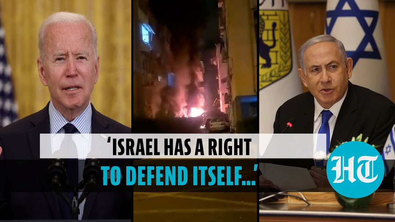 Joe Biden speaks to Netanyahu, hopes Israel-Palestinian conflict to end soon