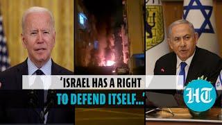 Joe Biden speaks to Netanyahu, hopes Israel-Palestinian conflict to end soon