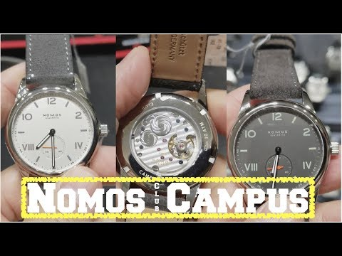 the new NOMOS CLUB:  buy it OR don't/a JEWELERS OPINION!