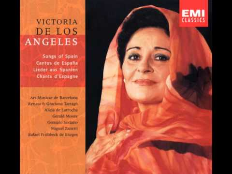 1951_1955 - Victoria de los Angeles - Songs of Spain Traditi