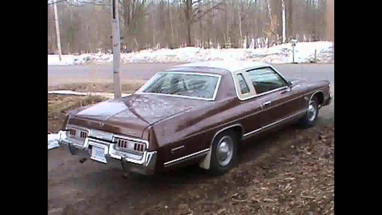 Dodge Monaco 1977 >> FOR SALE 1977 Dodge Royal Monaco Brougham IN WAUBAUSHENE ON L0K2C0 - YouTube