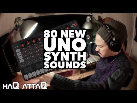80 new UNO Synth Sound Presets made by haQ attaQ