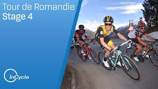 Tour de Romandie 2018 | Stage 4 Highlights | inCycle