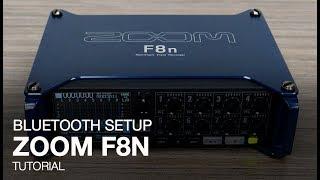 Gambar cover Zoom F8n: Bluetooth Setup