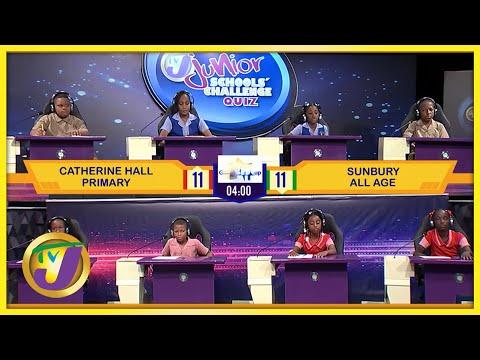 Catherine Hall Primary vs Sunbury All Age | TVJ Jnr. SCQ 2021 - Oct 5 2021
