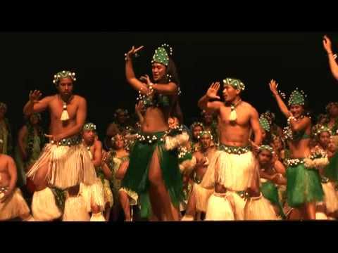 Mauke Kapa Rima at Rarotonga's Te Maeva Nui
