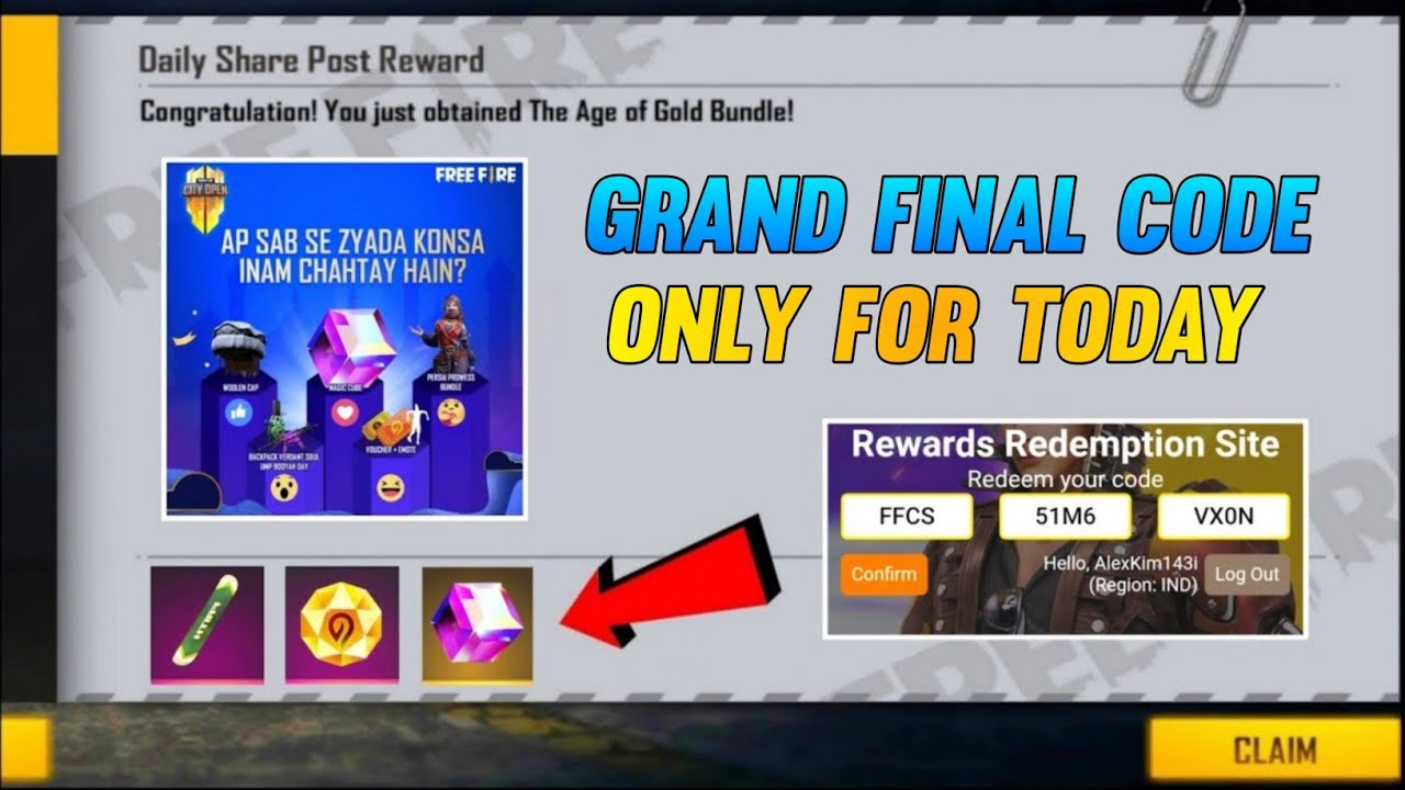 free fire redeem code today   free fire city open redeem code   free fire redeem code