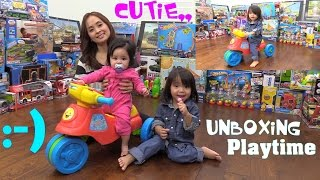 Educational Toys for Babies and Toddlers: Vtech 2 in 1 Learn N Zoom Motorbike Unboxing & Playtime