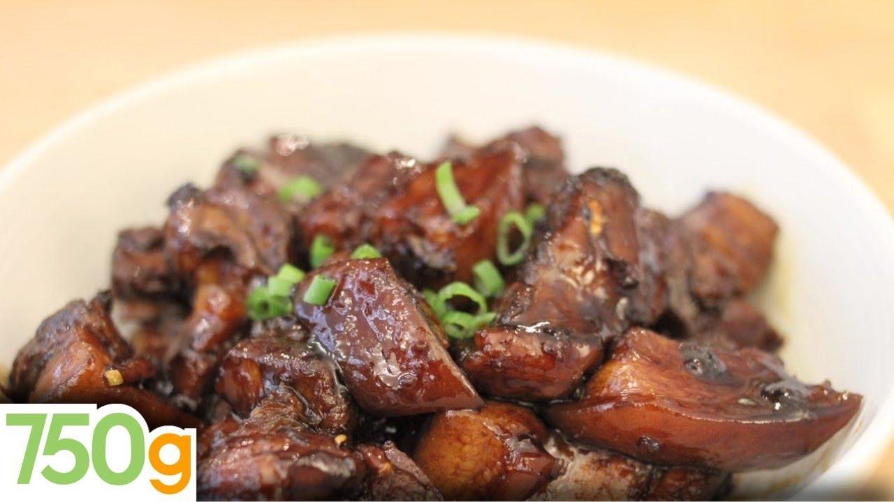 Recette du porc au caramel chinois 750 grammes youtube - Recette paupiette de porc facile ...