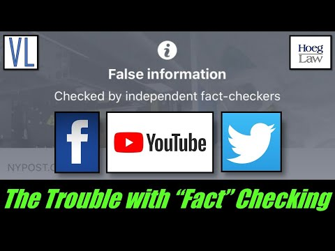 Who Fact Checks the Fact Checkers? (Facebook, YouTube, Twitter) (VL207)