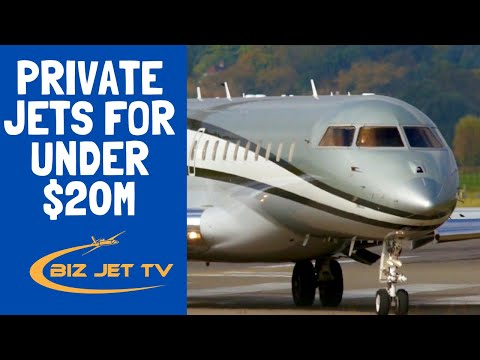 Private Jets for Under $20M