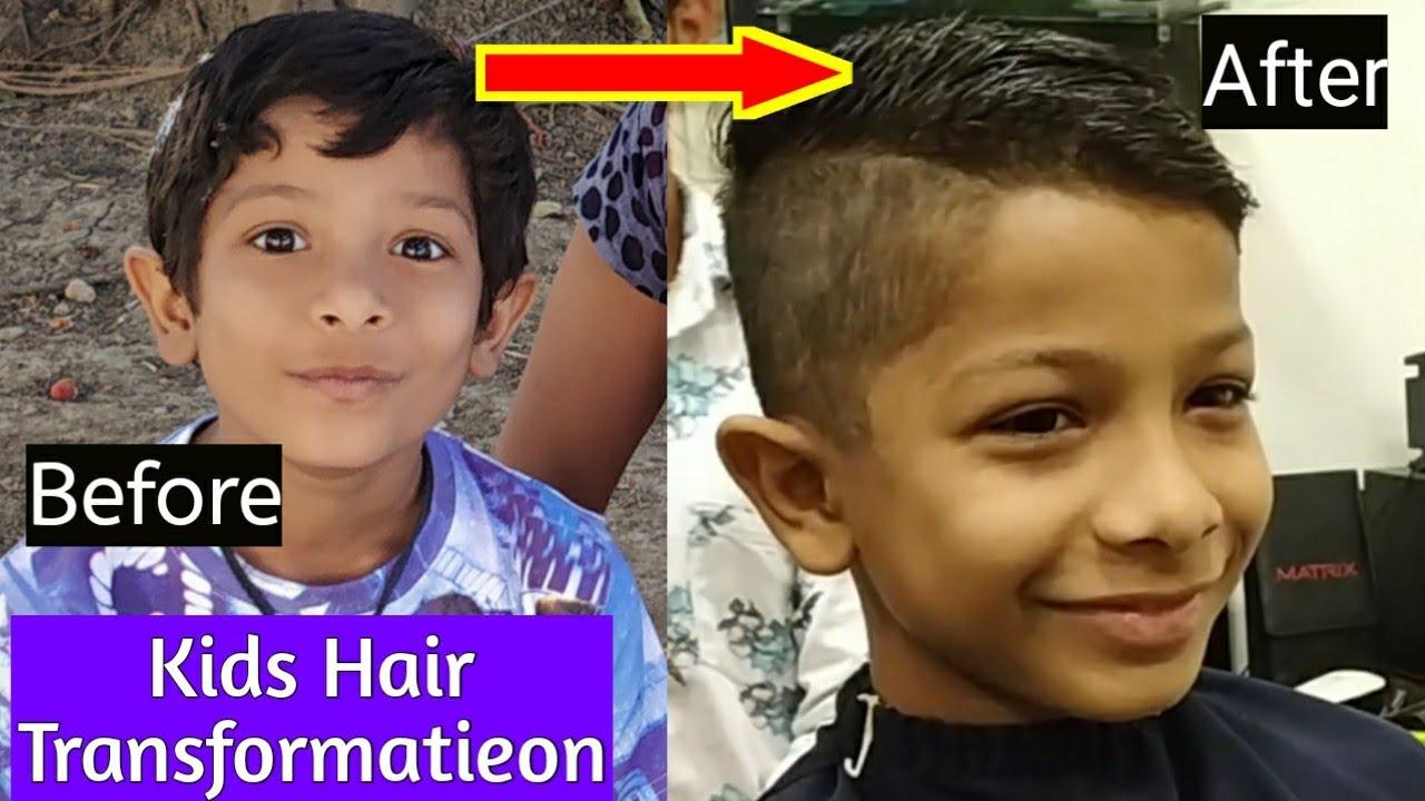 Indian Kids Haircut Kids Hair Transformation Hindi Kids New Hair Style Indian Barber Cut Youtube