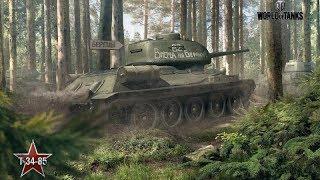 World of Tanks розпакування та огляд моделі танка Т-34-85