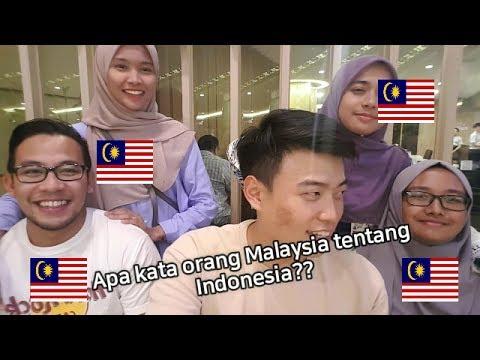 PENDAPAT ORANG MALAYSIA TENTANG INDONESIA!??