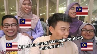 PENDAPAT ORANG MALAYSIA TENTANG INDONESIA