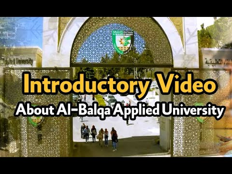 Download An introductory video about Al-Balqa Applied University