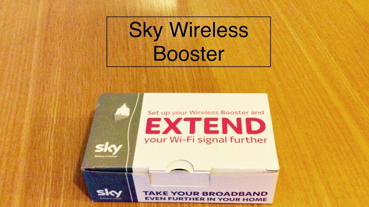 sky broadband booster