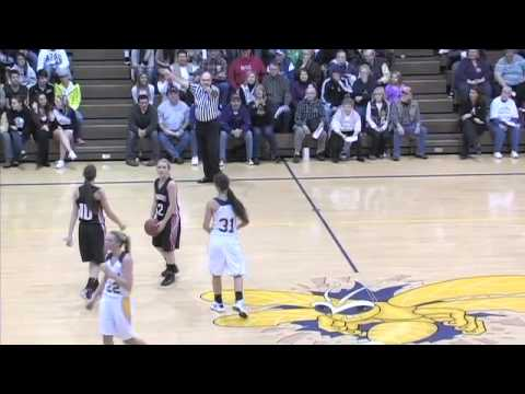 02-01-13 Fremont Eagles at Angola Hornets Girls High School Basketball Full Game