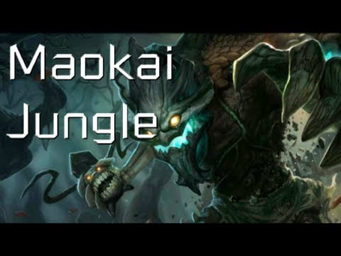 League of Legends - Haunted Maokai Jungle - Full Game Commentary
