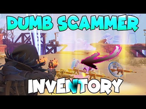 Dumb Scammer Nearly Scams Richest Inventory! (Scammer Gets Scammed) Fortnite Save The World