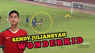 Skill Rendy Juliansyah Striker Muda Bertalenta Timnas U-16