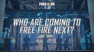 Who are coming to Free Fire next? | Free Fire SSA