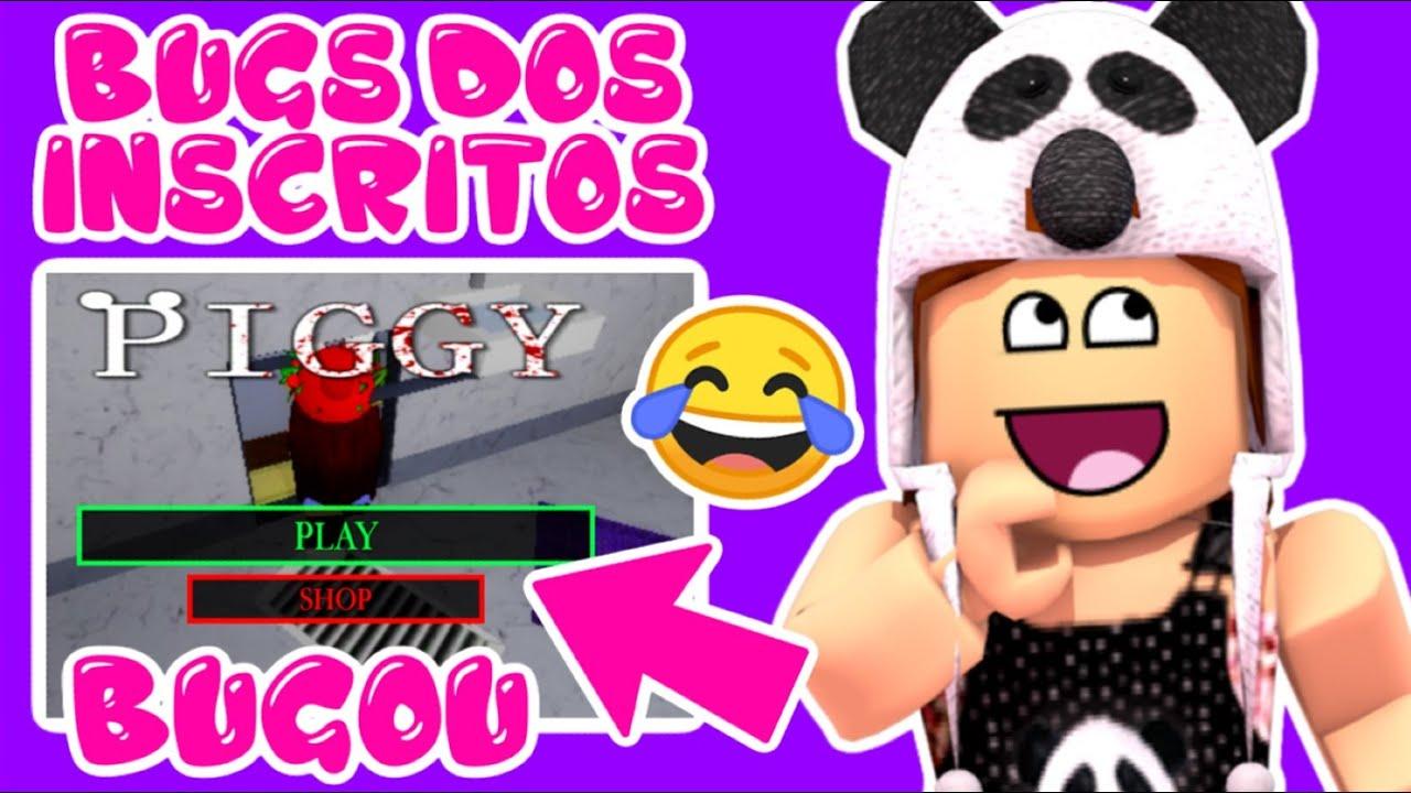 ELA BUGOU NO PIGGY!! 😂 HISTÓRIA DOS INSCRITOS 4!