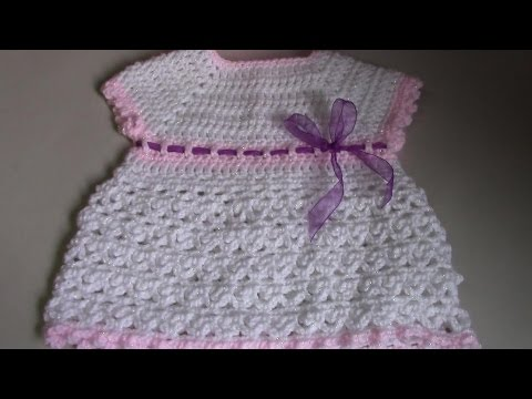 Haken Tutorial 199 Babyjurkje Christina Youtube