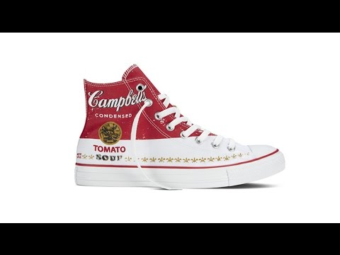 Converse launches Andy Warhol collection