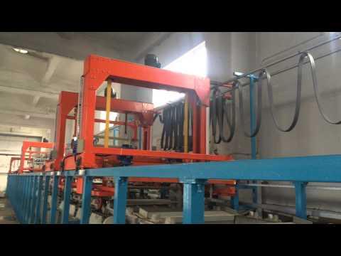 Auto barrel nickel plating machine