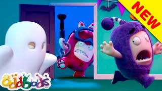 ODDBODS | Ghostbusted! | NEW Full Episode HALLOWEEN 2020  | Cartoons For Kids