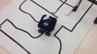 SESI Robotics School: Androidina Black | OBR 2015