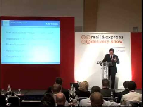 Mail & Express Delivery Show 2010 - John Coghlan