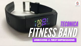 Teconica Fitness Band with Activity Tracker | Unboxing & First Impressions