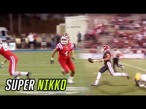 Cal Commit Nikko Remigio Finished His High School Career ON TOP! WR's SENIOR MIXTAPE