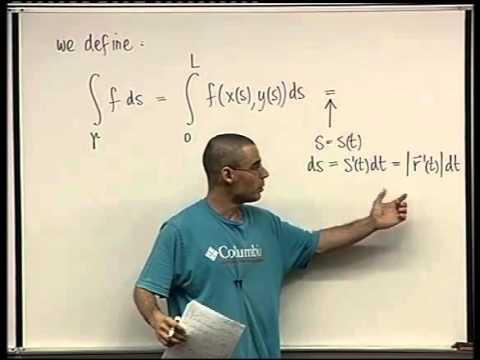 75 - Line integrals of scalar functions