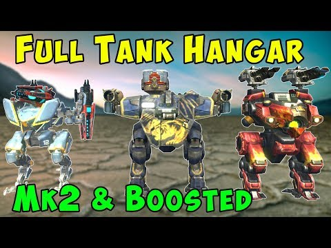 Maximum Tank Hangar Mk2 Most HP Ever - War Robots Gameplay WR