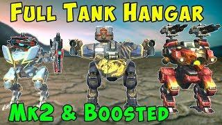 Maximum Tank Hangar Mk2 Most HP Ever - War Robots Gameplay WR