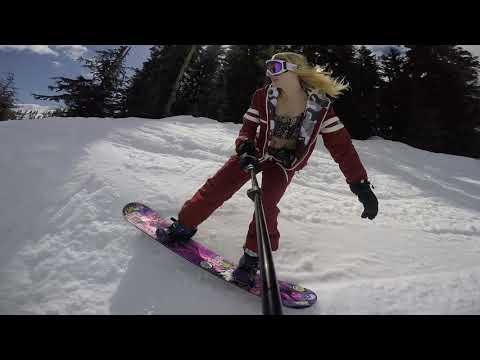 Closing Day Mt  Baker Snowboarding