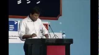 Repeat youtube video Umar Naseer Maumoonge haqeegai kiyaidheny