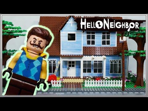 LEGO Самоделка Привет Сосед / LEGO Moc Hello Neighbor