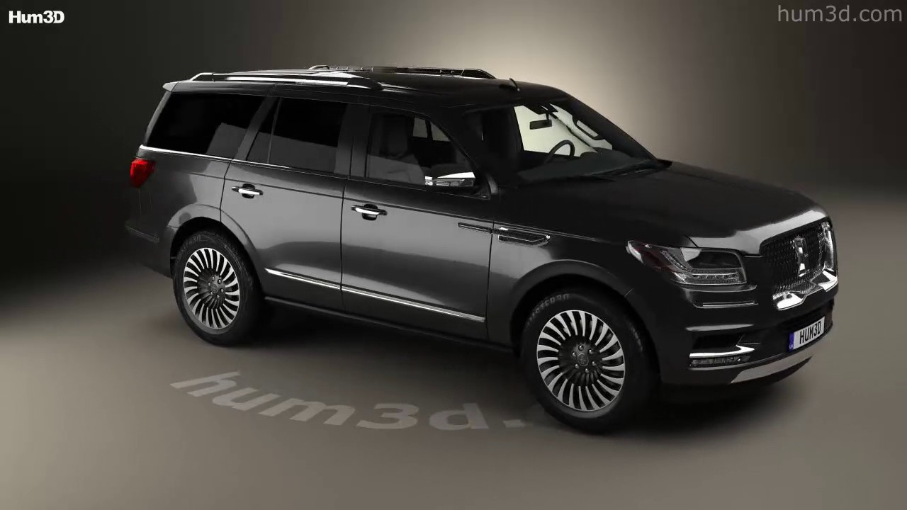 Lincoln Navigator Black Label 2017 3d Model By Hum3d Com Youtube