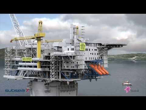 Aasta Hansteen marine operations 2018