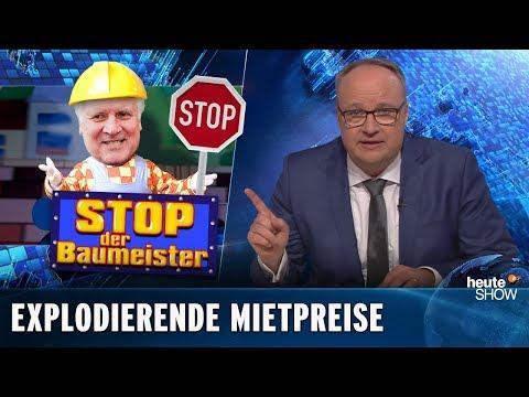 Wieso führt Seehofer keine Obergrenze für Mieten ein? | heute-show vom 15.02.2019