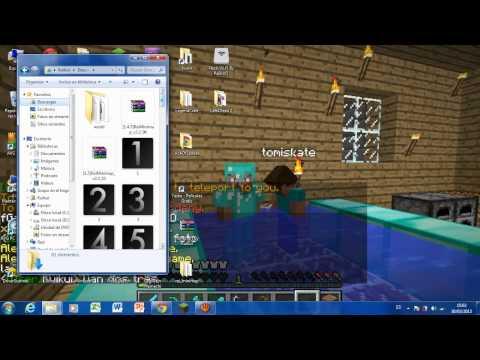 Minecraft 1.5.1 Como Instalar El Smart Moving