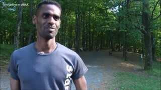 Tomas Bereket i form og klar for Besseggløpet 28  juni 2014