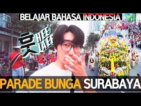 [Korean VLOG] Parade Bunga Terbesar Di Surabaya !! 수라바야 꽃 축제 [SURABAYA, INDONESIA] with a7s, mavic