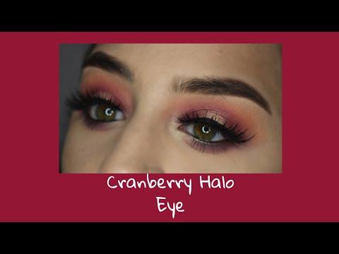 Cranberry Halo Eye Makeup Tutorial thumbnail